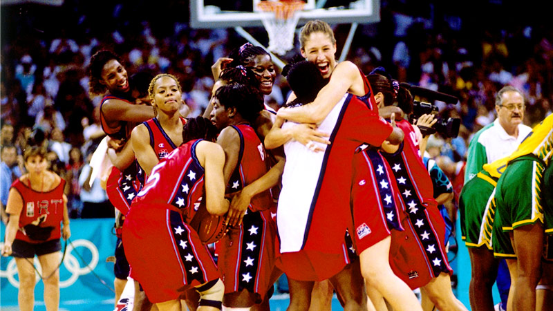 After lackluster results in the 1992 Olympics and the 1994 world championships, Team USA entered the 1996 Atlanta Games looking to regain the prominence of the American squads from the 1980s. With a roster that included superstars Lisa Leslie, Teresa Edwards, Nikki McCray, Dawn Staley and Rebecca Lobo, the team underwent a 10-month training tour prior to the Games. The rigorous preparation paid off, and the U.S. dominated the competition in Atlanta. The team averaged 102.4 points per game during its eight-game run en route to the gold medal. The U.S. defeated Brazil 111-87 in the championship game. With sell-out crowds and huge TV ratings, the team showed women's basketball was a viable entity in the United States. The WNBA began play the following year, founded in large part due to the success and popularity of the U.S. squad.