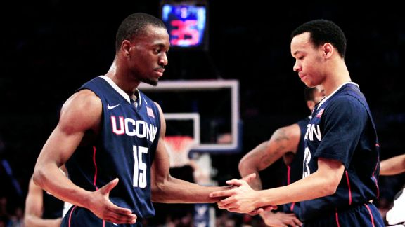 Kemba Walker and Shabazz Napier