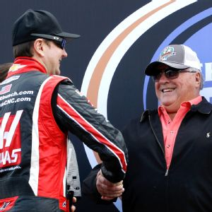 Kurt Busch and A.J. Foyt