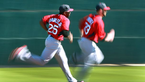 Jackie Bradley, Jr. and Bryce Brentz