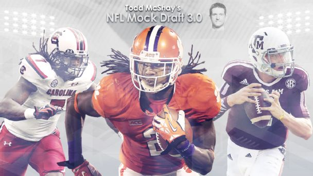 Todd McShay's NFL Mock Draft 3.0 Illustration