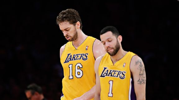 Lakers Dejection