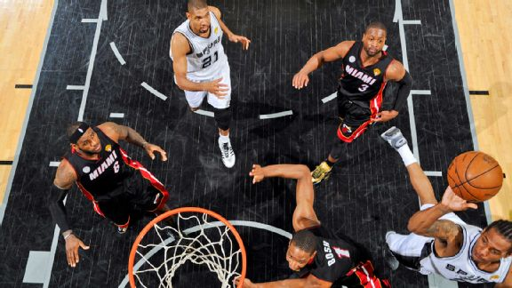 Heat, Spurs