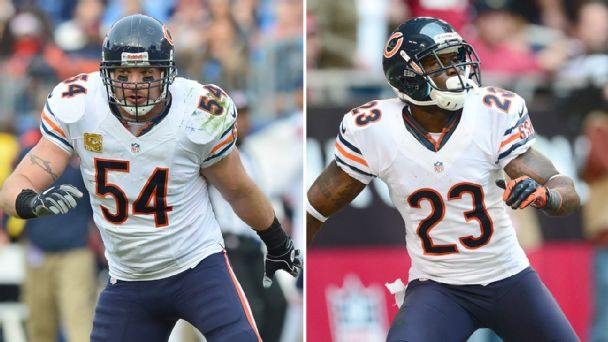 Brian Urlacher and Devin Hester