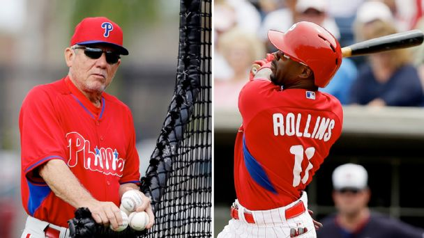 Larry Bowa and Jimmy Rollins