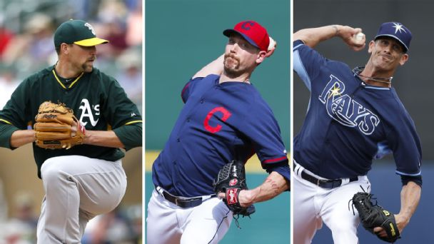 Jim Johnson, John Axford, Grant Balfour