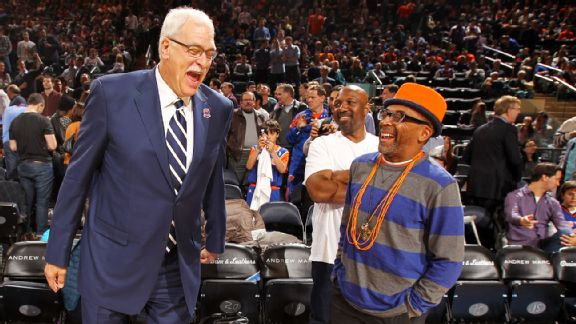 Phil Jackson, Spike Lee