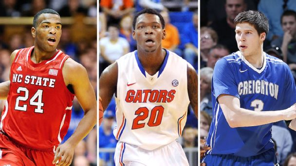 T.J. Warren, Michael Frazier II, Doug McDermott
