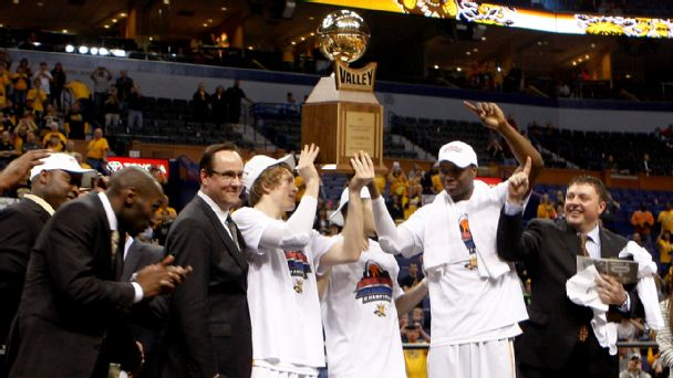 Wichita State Shockers celebrate