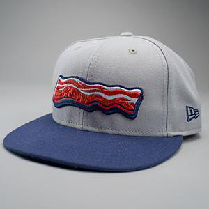 Lehigh Valley IronPigs bacon cap