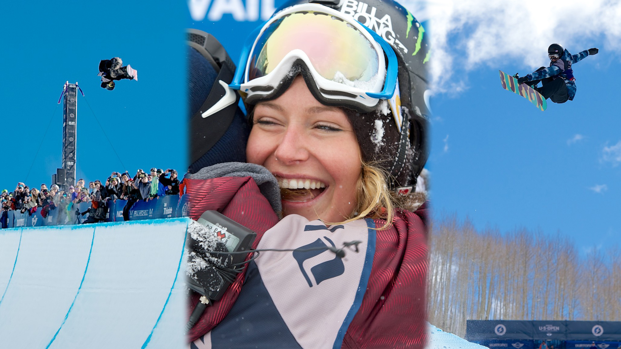Hiraoka, Anderson and Clark took home individual champion titles for Men's Halfpipe, Women's Slopestyle and Women's Halfpipe, respectively.