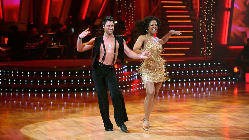 The  boxing champion -- known for her tough-as-nails demeanor in the ring -- showed off a softer side of her personality on the show through her dancing. Despite no previous dancing experience, Ali and partner Maksim Chmerkovskiy received the season's first 10 score from judge Len Goodman. Ali and Chmerkovskiy made it until the end of the season, ultimately finishing in third place behind speedskater Apolo Anton Ohno and former 'N Sync singer Joey Fatone.
