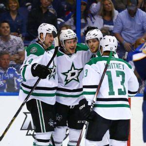 Dallas Stars celebrate