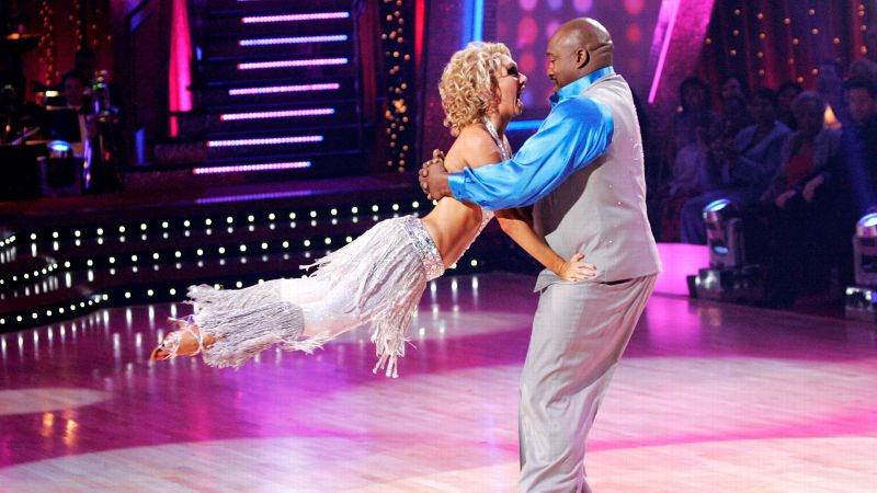 Hall of Famer and Super Bowl champ Warren Sapp brought his passion to the show and teamed with Kym Johnson. Despite his 300-plus-pound frame, the seven-time Pro Bowler surprised audiences with his grace and skill on the dance floor. The duo received the season's highest scores in both the tango and the hustle. Sapp finished in second place, behind TV personality and eventual DWTS host Brooke Burke.