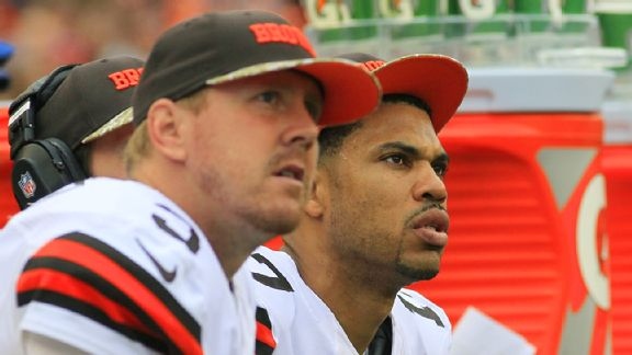 Jason Campbell and Brandon Weeden