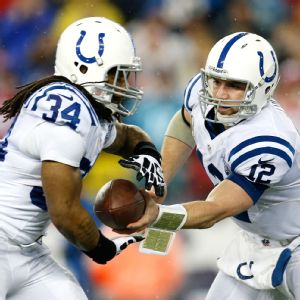 Andrew Luck and Trent Richardson