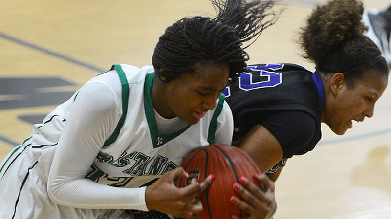 Rydeiah Rogers brings strength and agility to the court for No. 8 Myers Park, which is looking for its first North Carolina state title.