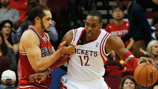 Joakim Noah, Dwight Howard
