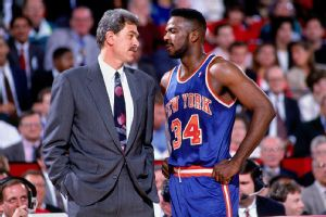 Phil Jackson and Charles Oakley