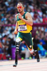 Once seen as an athlete who defied many odds, Oscar Pistorius' character flaws have become well-publicized.