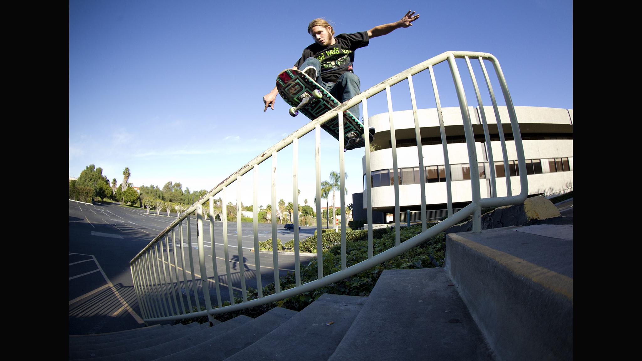 Jon Dickson, Gap to F/S boardslide