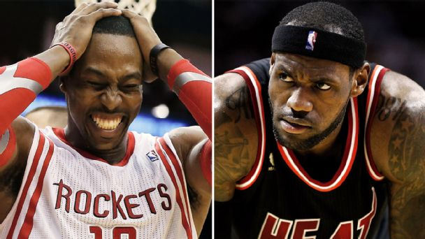 Dwight Howard, LeBron James