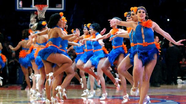 New York Knicks dancers