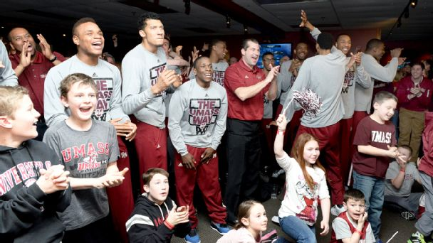 UMass Minutemen on selection Sunday