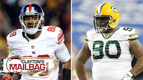 Hakeem Nicks and B.J. Raji