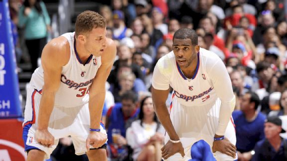 Blake Griffin and Chris Paul
