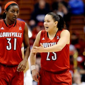 Asia Taylor and Shoni Schimmel