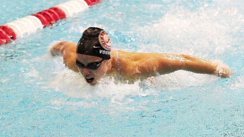 Kristel Vourna, a junior at  Alabama, finished in 12th place in the 100-meter butterfly while representing Greece at the 2012 London Olympics. Vourna is set to compete in the 100-yard  butterfly in Minneapolis.