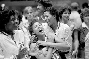 Cheryl Miller and and Cynthia Cooper