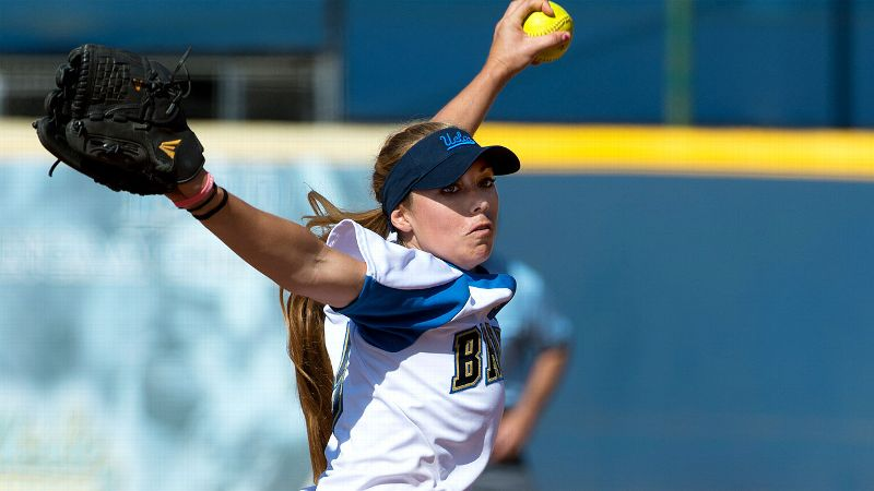 Jessica Hall has combined with teammate Ally Carda to give UCLA a microscopic team ERA of 0.96.