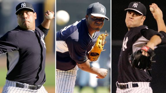 Vidal Nuno, Michael Pineda, David Phelps