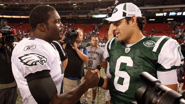 Michael Vick, Mark Sanchez