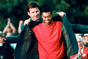 Tiger Woods, Nick Faldo