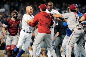 Dodgers Diamondbacks pelea