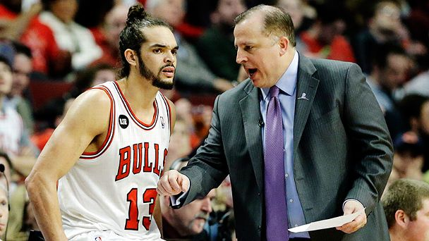 Joakim Noah and Thibodeau