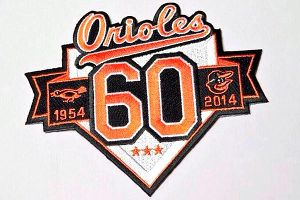 Baltimore Orioles patch