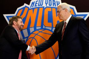 James Dolan and Phil Jackson