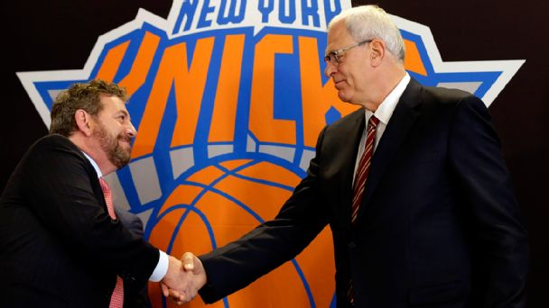 Phil Jackson and James Dolan