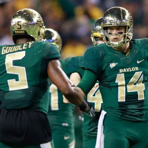 Bryce Petty and Antwan Goodley