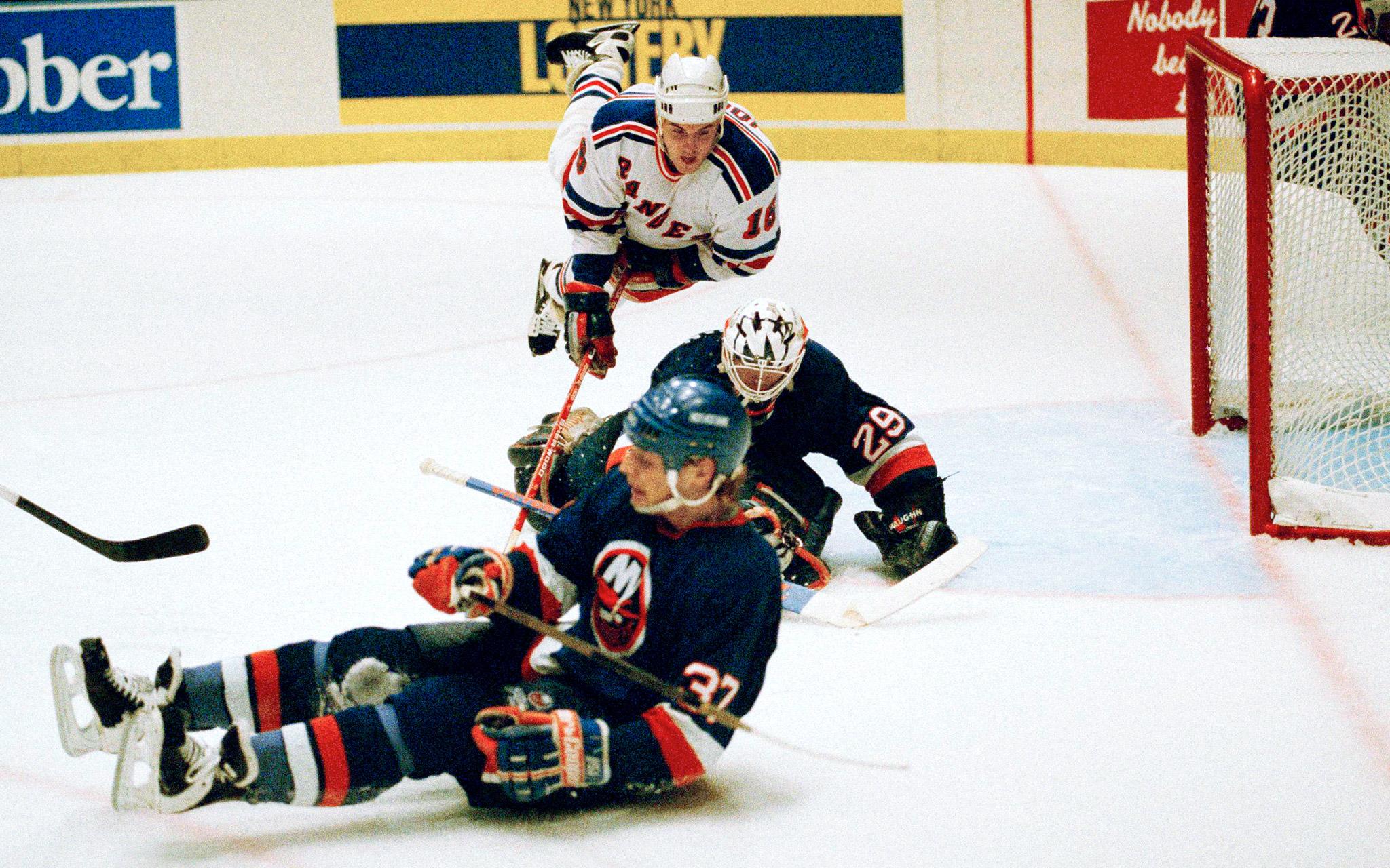 Rangers-Islanders
