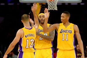 Lakers celebrate