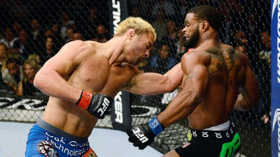 Tyron Woodley and Josh Koscheck