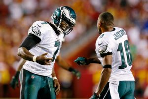 Michael Vick and DeSean Jackson