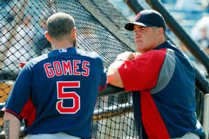 John Farrell and Jonny Gomes