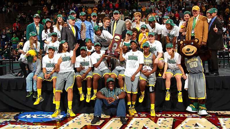 Led by Naismith Player of the Year Brittney Griner, the Baylor Lady Bears completed a 40-0 perfect season with an 80-61 win over Notre Dame in the national championship game. It was the second NCAA title in program history.