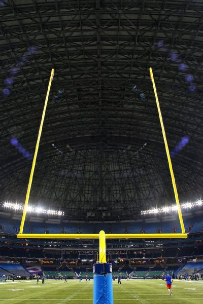 NFL goalpost uprights to increase to 35 feet